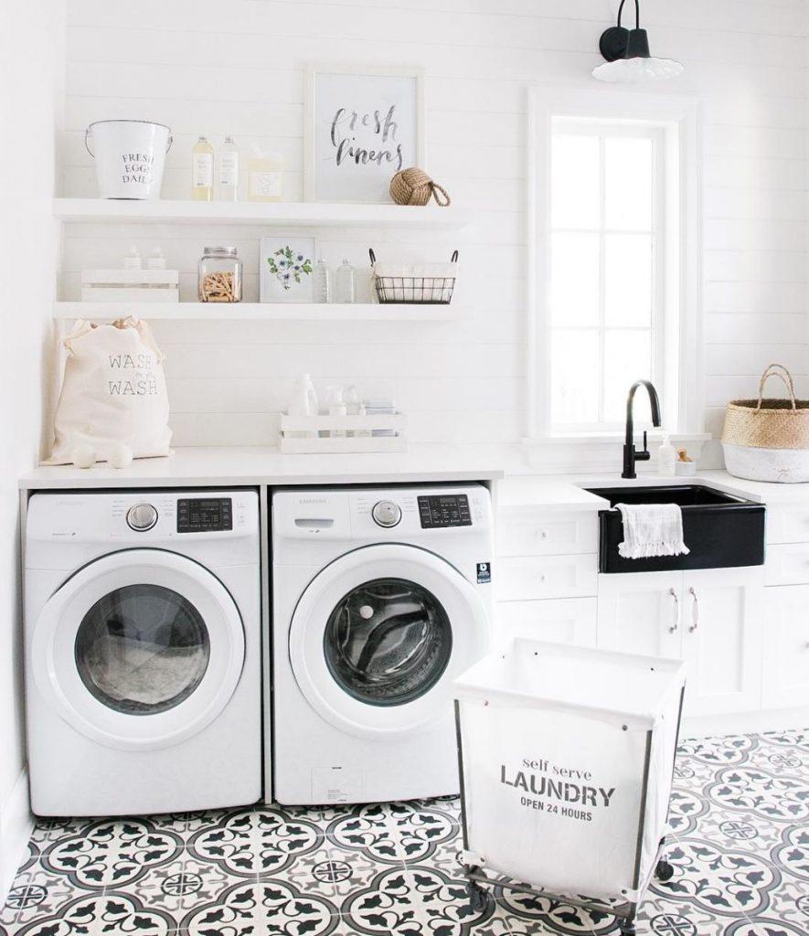 tile laundry room