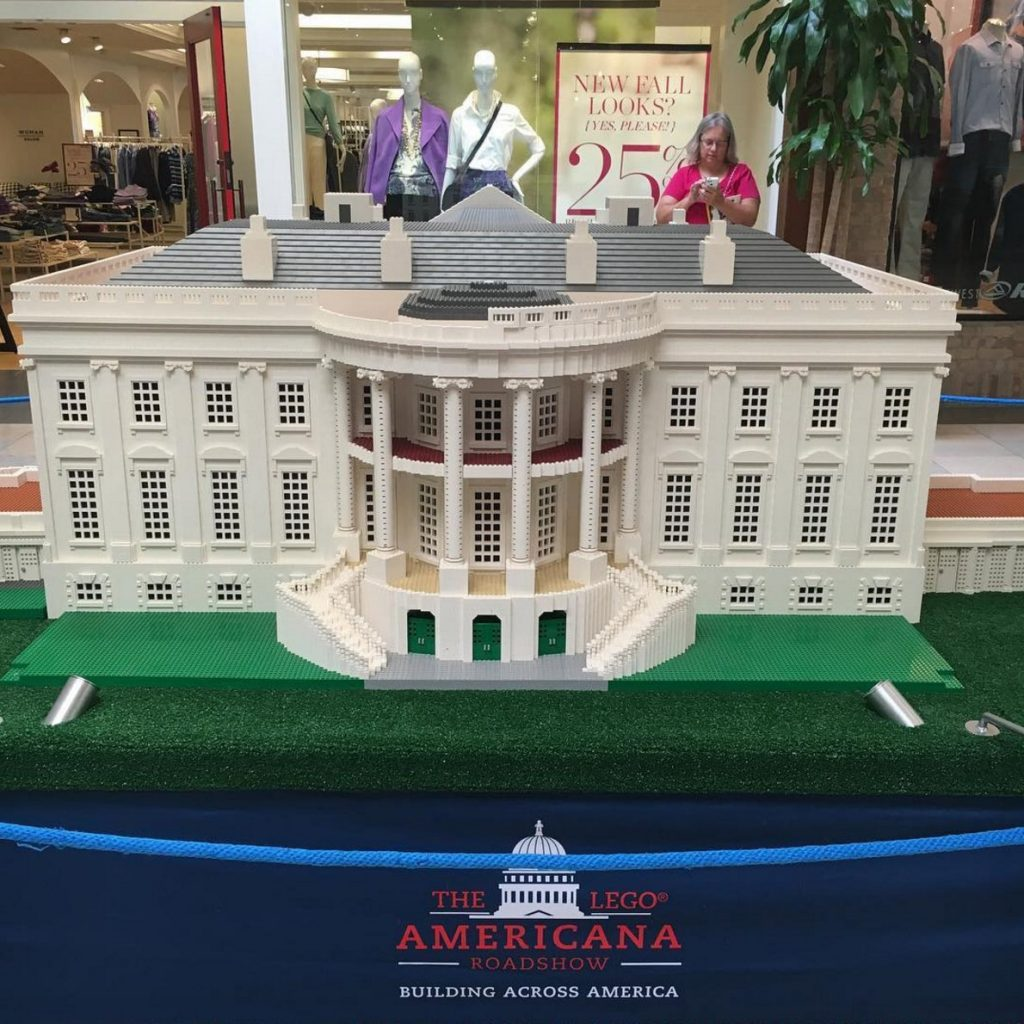 don't miss your chance to visit the white house (made of lego)