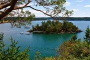 washington cabin island
