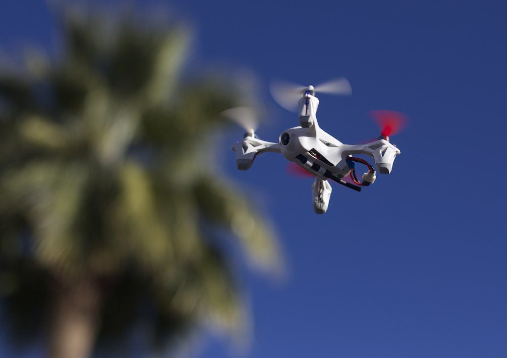 home security drone