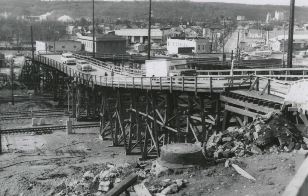 railroad overpass