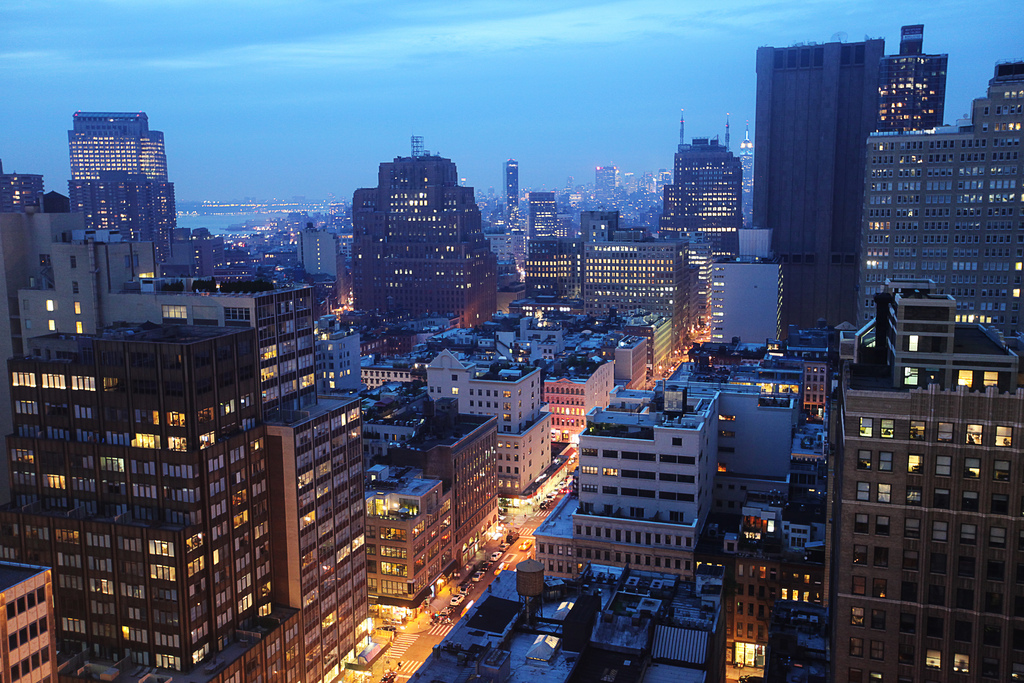 Downtown Manhattan NYC
