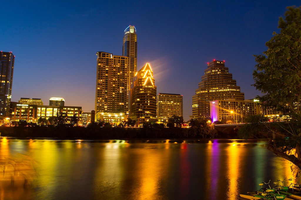 Austin Texas downtown skyline