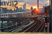 LIC NY Subway Train
