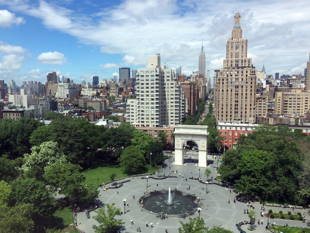 Manhattan Washington Square Park NYC