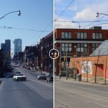 Then and Now Queen East