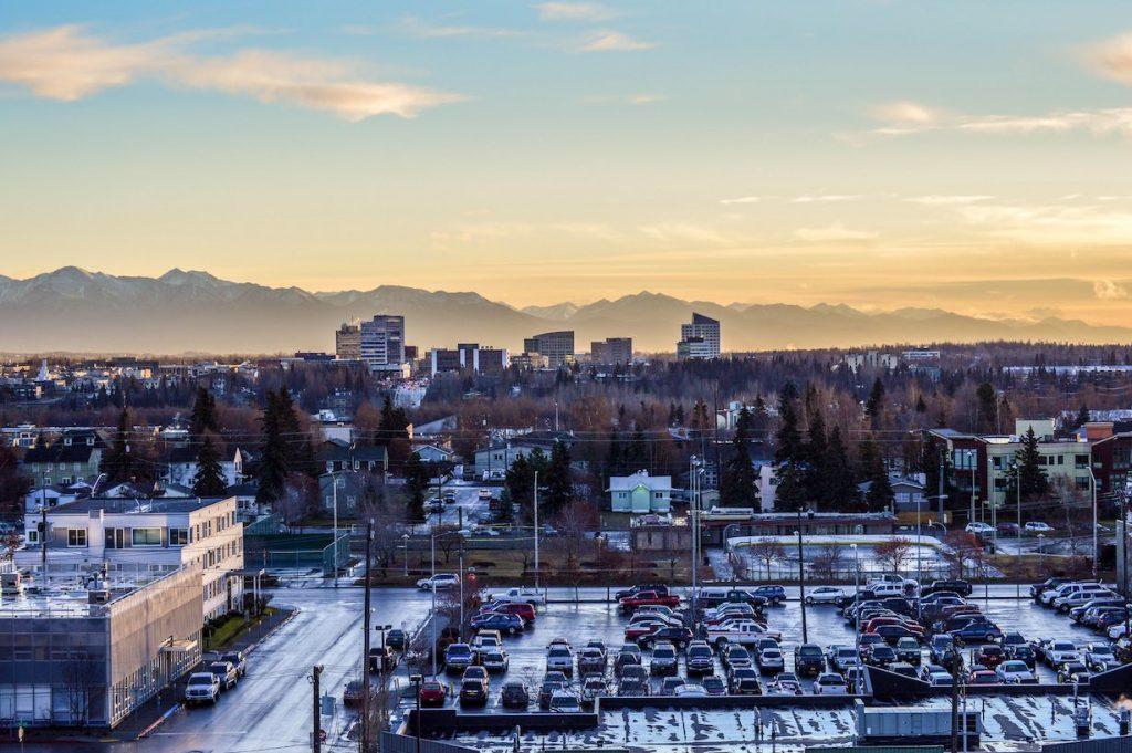 Anchorage Alaska Downtown