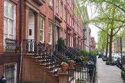 Chelsea Manhattan brownstones NYC