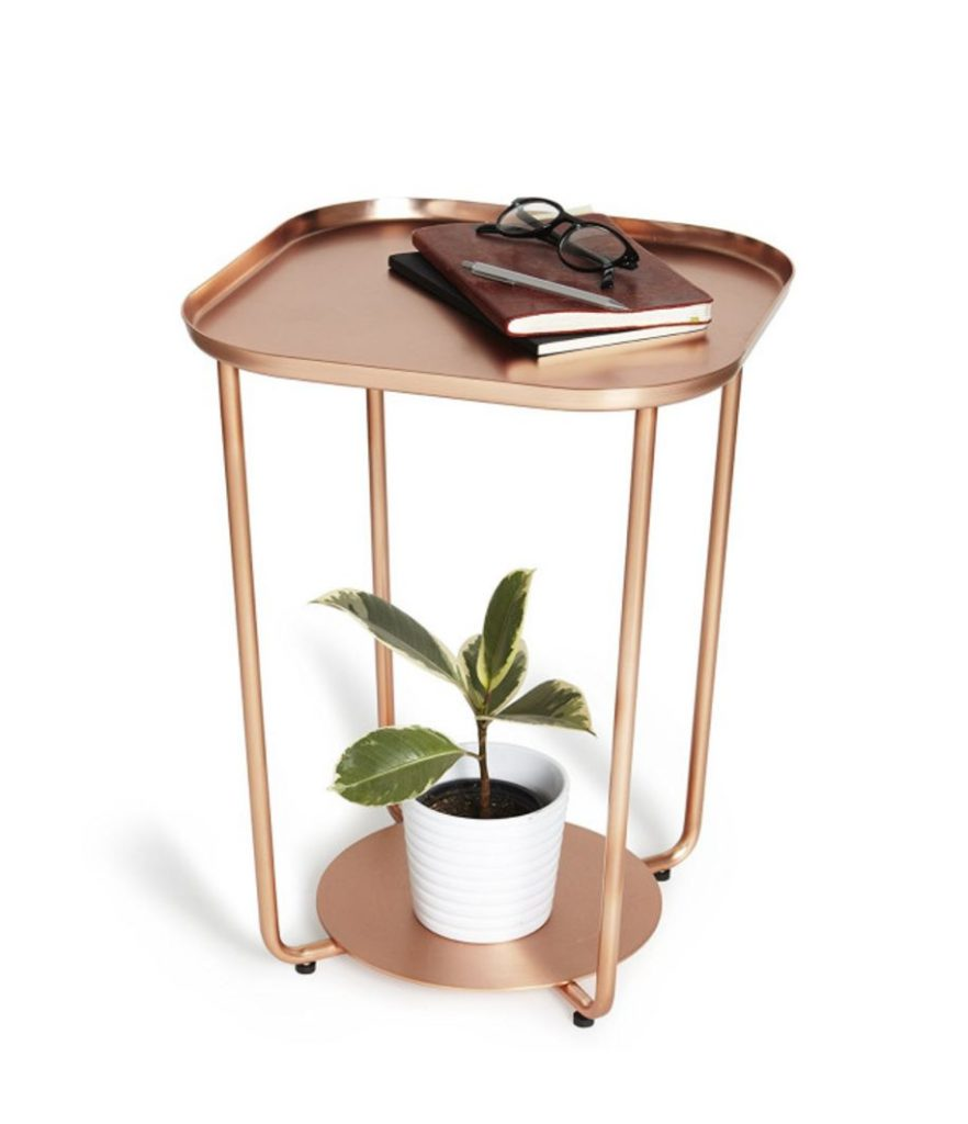 copper table