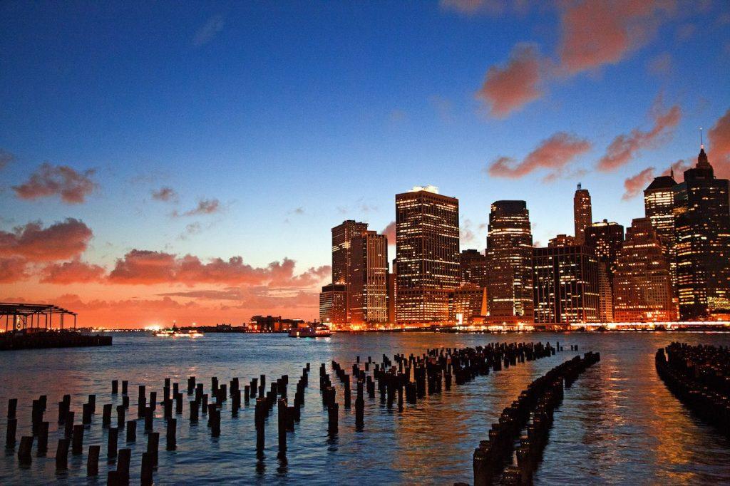 Brooklyn Bridge Park view of NYC