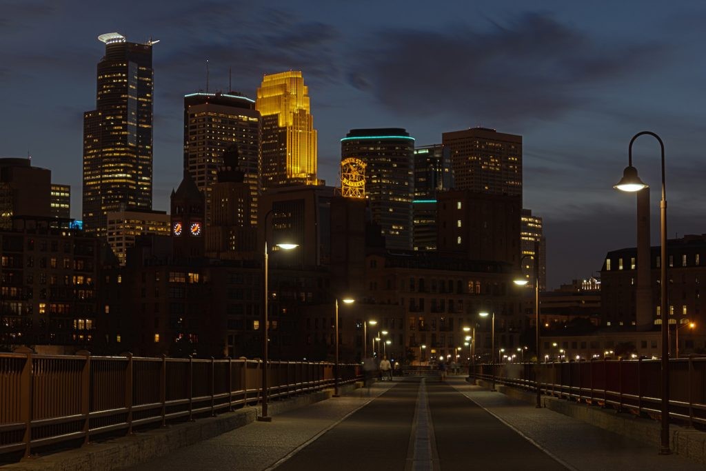 Minneapolis Minnesota skyline downtown