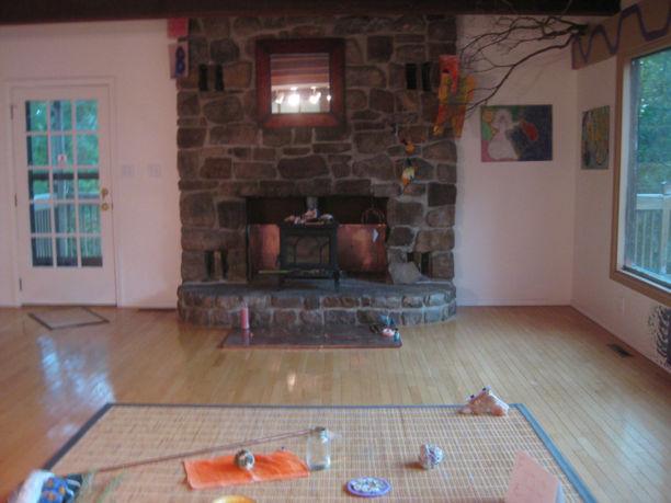 24256 Mock Knob Rd fireplace