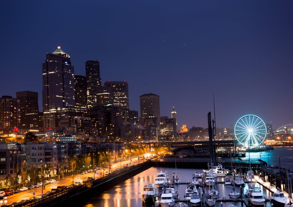 Portland OR skyline