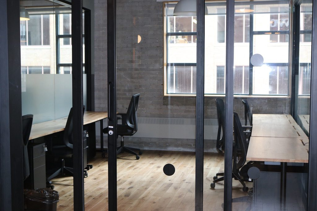 An inside look at toronto s first wework shared office for Shared office space montreal
