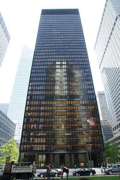 new york seagram building