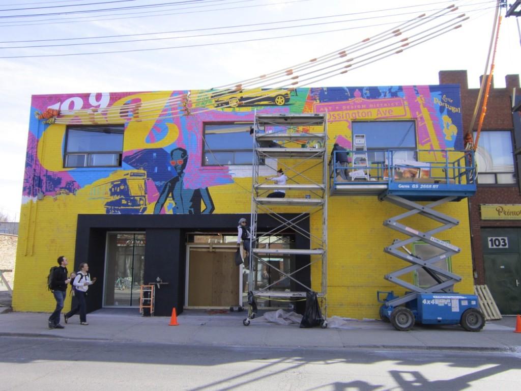 109oz mural