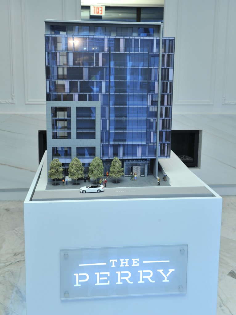 the perry scale model front