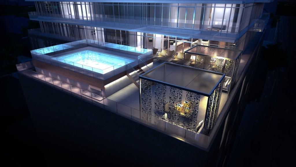 SoBa amenity pool