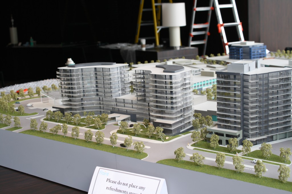 shops at don mills community model