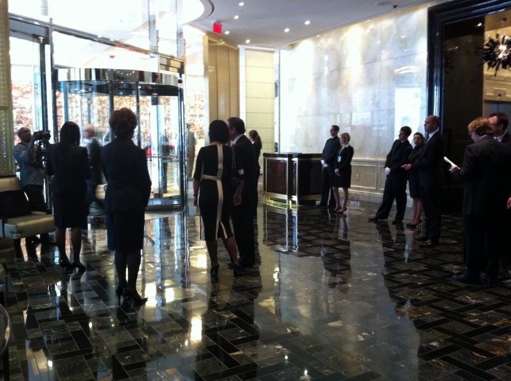 trump toronto lobby