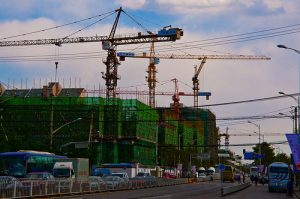 beijing construction boom