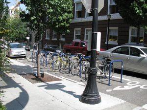 biking in portland