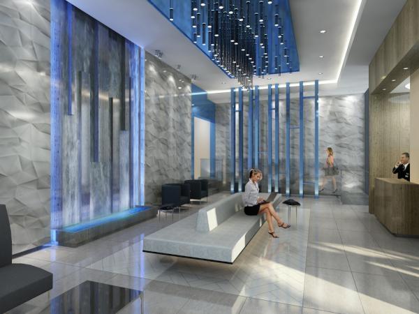 lobby rendering flo condos