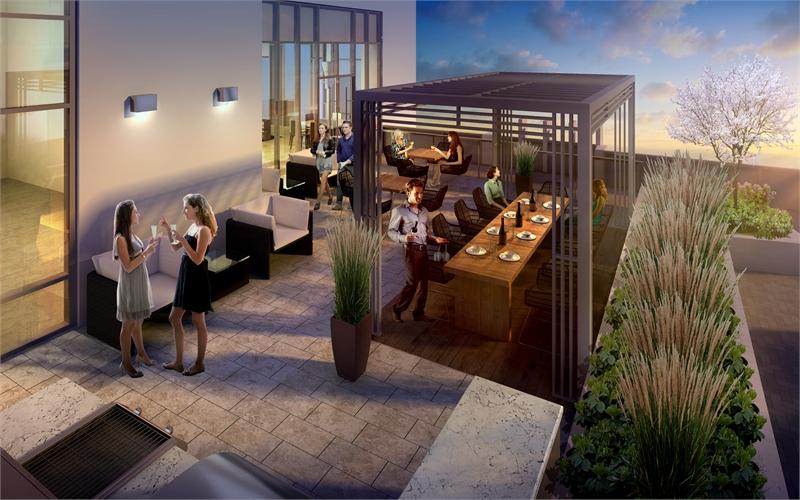 rooftop terrace flo condos