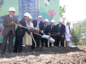 LOVE Condos groundbreaking
