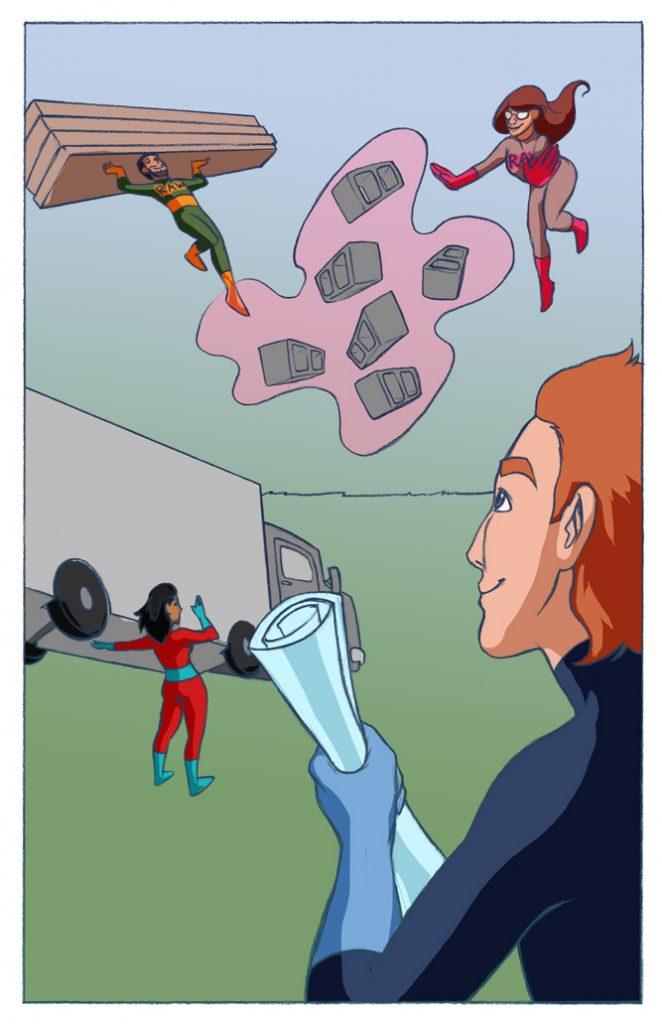 raw design comic