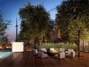 monde outdoor lounge