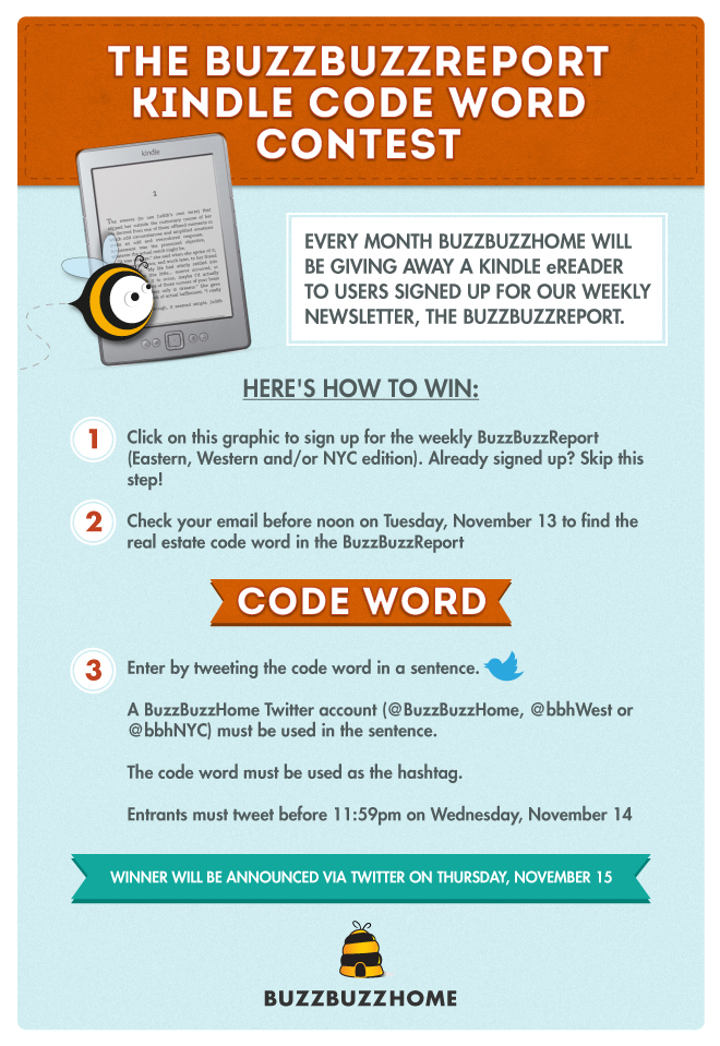 buzzbuzzhome kindle code word contest