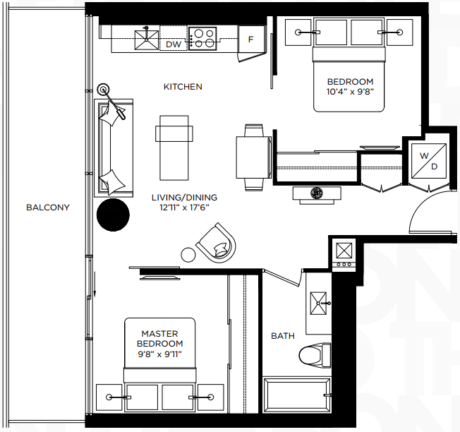 the bond floorplan