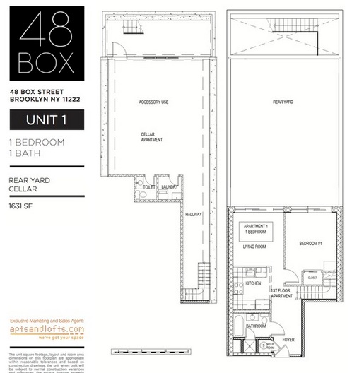 48 box street unit 1 fp