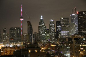 Downtown Toronto Spamily Flickr