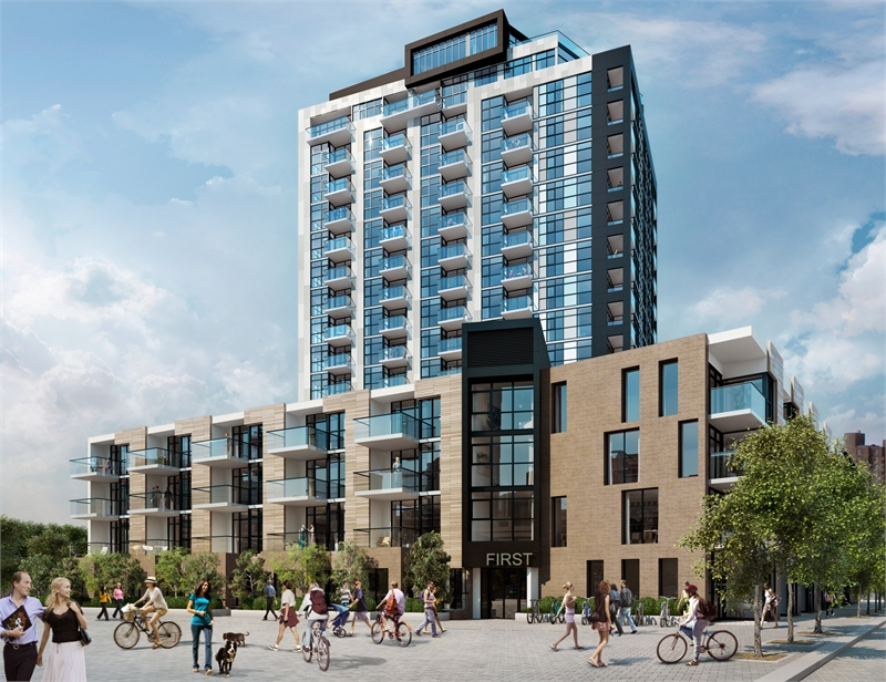 First Condos at East Village