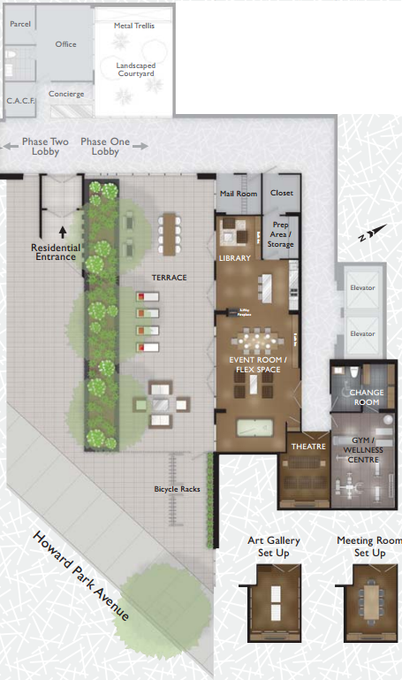 Howard Park Amenities Plan