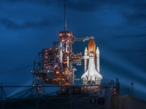 Space shuttle Atlantis in July, 2011. Photo via Flickr.