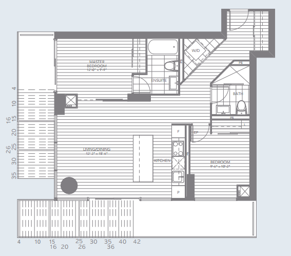 St Michaels Floor Plan U Condos