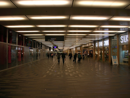 Underground City in Montreal. Photo via Kevin Crumbs/Flickr