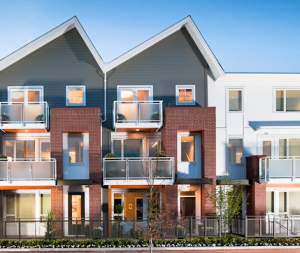 River Walk townhomes in South Vancouver