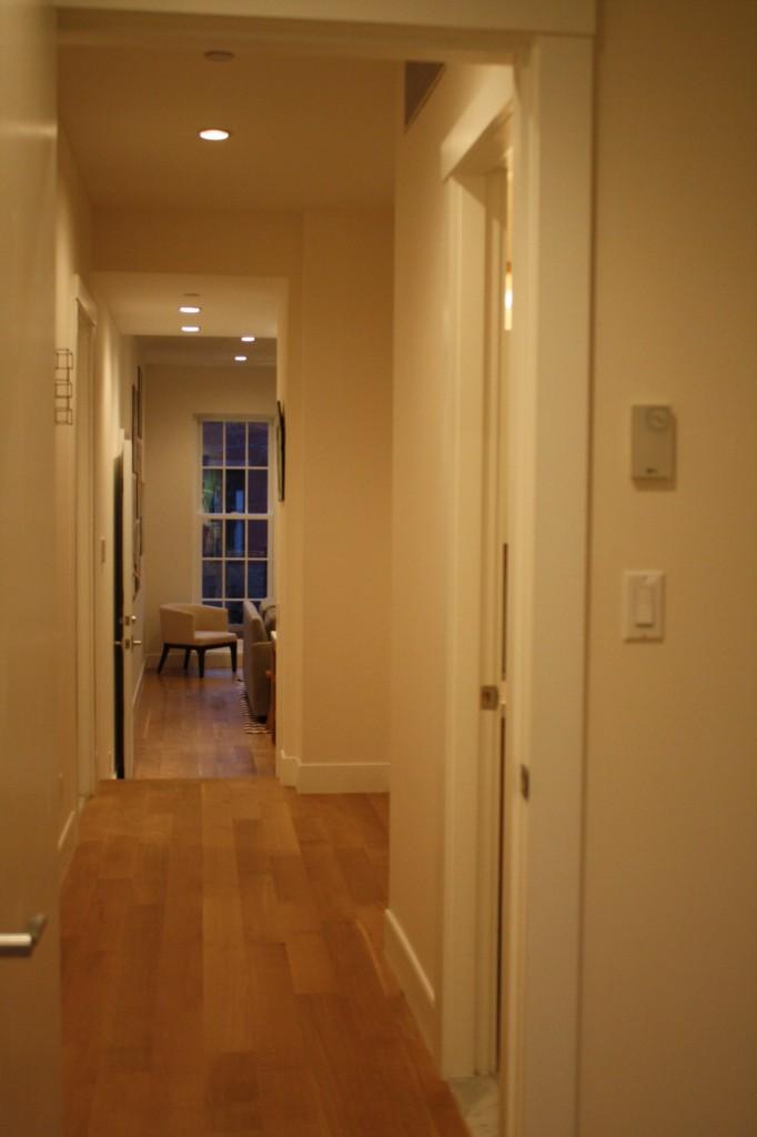 123 Fort Greene hallway