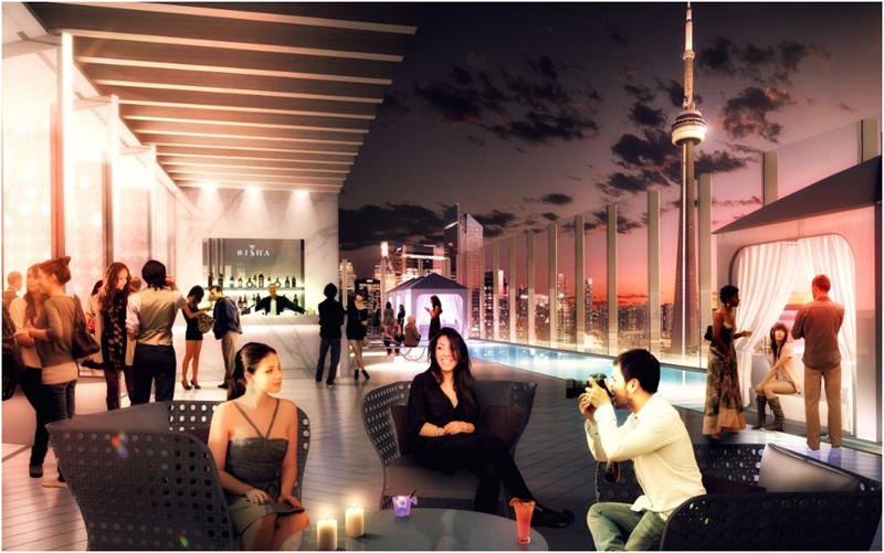 Bisha Hotels and Residences Rooftop