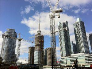 Flickr photo Toronto crane by Bleu Nuit