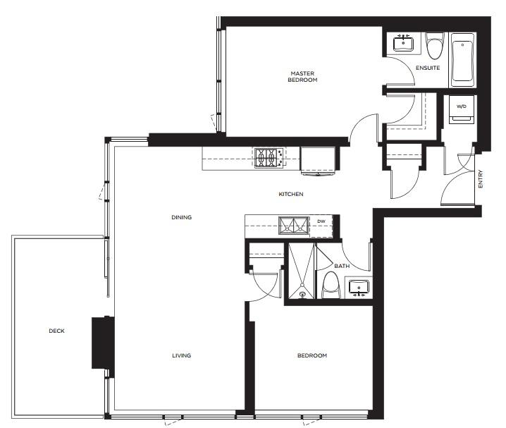 Evolution floorplan Calgary