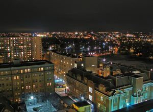Flickr photo Kitchener by Night by Gary Simmons