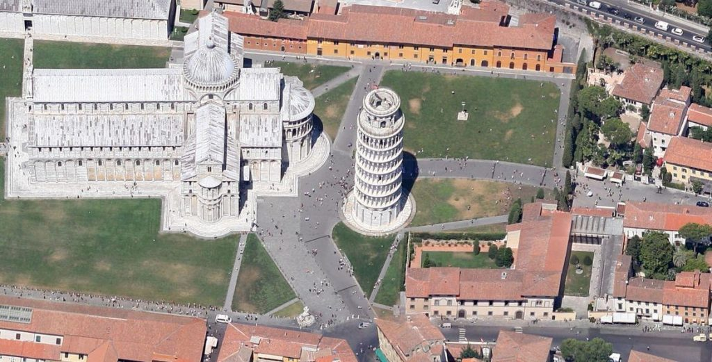 Leaning Tower of Pisa Google Maps