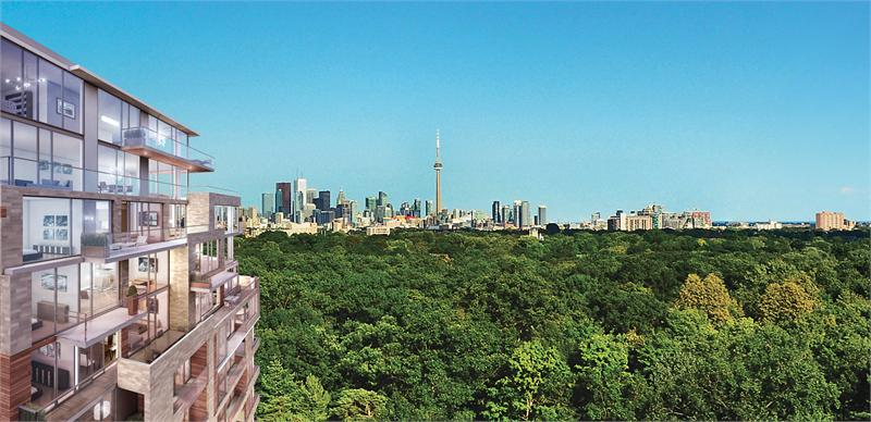 The High Park Exterior View