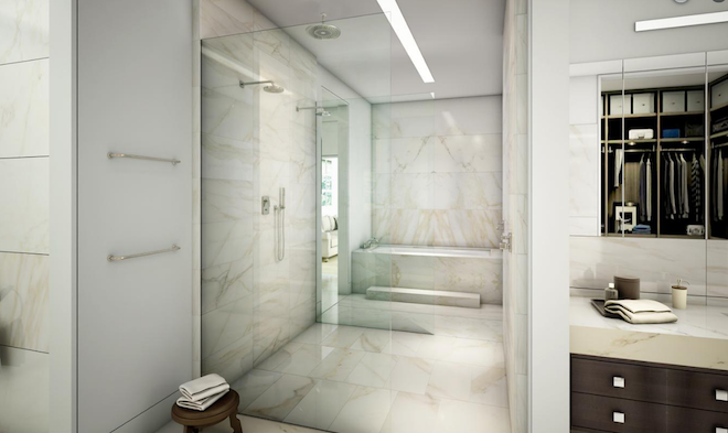 The Whitman bathroom