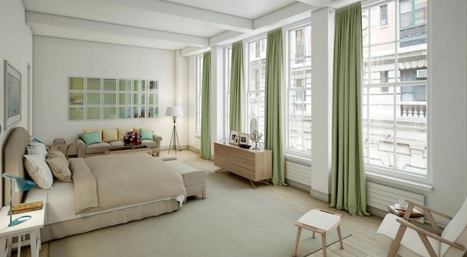 The Whitman bedroom